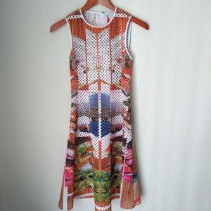 Clover Canyon Ecru flare dress Size Small